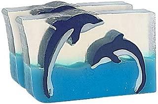 Primal Elements Dueling Dolphins 6.0 Oz. Handmade Glycerin Bar Soap
