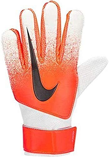 Nike Kinder Match Torwarthandschuhe, White/Hyper Crimson/Black, 8