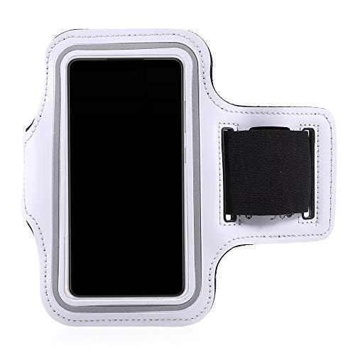 CoverKingz Funda universal deportiva para teléfono móvil, para todos los smartphones de 4,5 a 5,85 pulgadas, con compartimento para llaves, color naranja