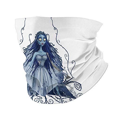 OSY Tim Burtons-Corpse Bride Neck Gaiter Masks Breathable Fishing Running Cycling Head Scarf Ski face Nose Covers for Men Women Black