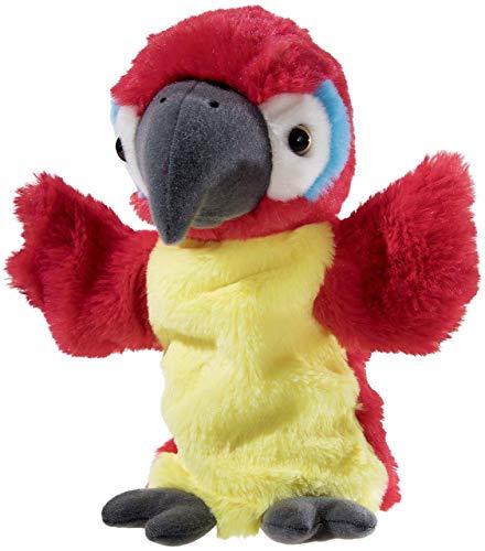 Heunec 394377 Handspielpuppe Papagei, mehrfarbig