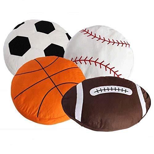 Homieco Basketball Kissen Breathable Baby Puppe Spielzeuge Sport DIY Polster Kissen Geschenke zum Kinder