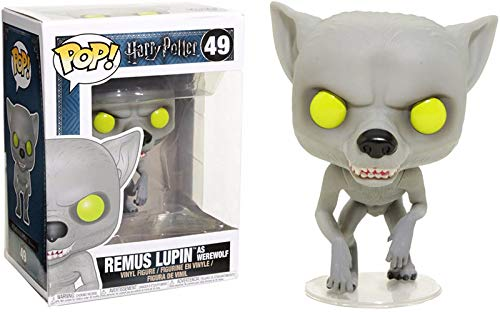 Funko Pop Movies: Harry Potter - Remus Lupin as Werewolf Collectible Figure, Multicolor