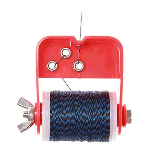 N/A/a 1 Juego de Arco de Tiro con Arco Hilo de Servir con Cuerdas de Arco Herramientas de Servidor Accesorios de Mantenimiento de Tiro con Arco para Varios - Rojo Azul Negro