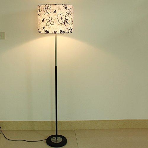 ZIXUANJIAXL Stehende Stehlampen Stehlampe Wohnzimmer Intelligente Fernbedienung LED Einfache Moderne Pastoral Schlafzimmer Moderne Stehleuchte Standard Leucht