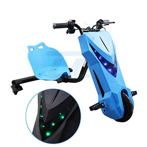 Patineta Scooter De Tres Ruedas Triciclo ELECTRICO Diseño De Longitud Ajustable Y...
