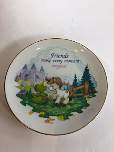 AMERICAN GREETINGS Lasting Memories Vintage Porcelain Mini Plate with Gold Trim
