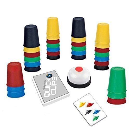 deAO Speedy Family Matching Quick Cup Stapelend Bordspel voor kinderen en volwassenen