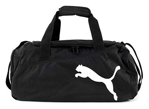 PUMA Sporttasche Pro Training Bag, Black/White, 48 x 26 x 24 cm, 28 Liter, 072939 01