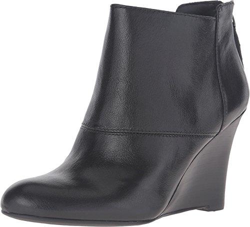 Nine West Women's Optimistic Black Leather Boot 7.5 M