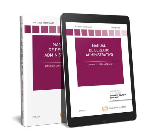 Manual de derecho administrativo (+ E-book) (Tratados y Manuales de Derecho)