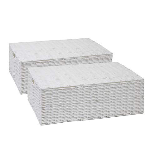ARPAN Resin Woven Under Bed Storage Box