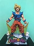 Anime Dragon Ball Z Super Saiyan Son Goku Figura DBZ Super Master Stars Diorama Smsd Figura De Acción Juguetes De Modelos Coleccionables 24Cm