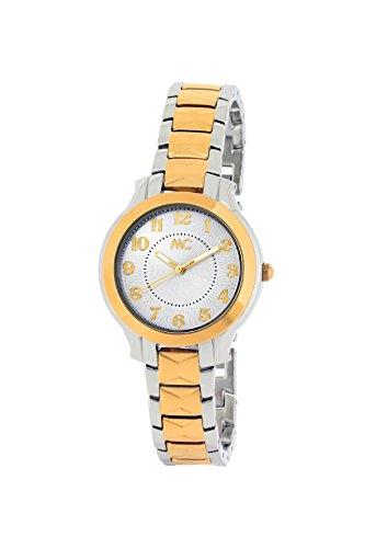 MC Timetrend Damen Analog Quarz Uhr mit Messing Armband 51731