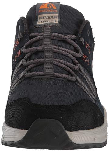 Skechers Equalizer 4.0 TRX, Zapatillas de Trekking Hombre, Multicolor (NVY Black Leather/Mesh/Synthetic/Black Trim), 44 EU