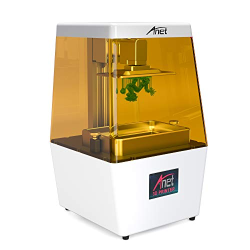 2019 Anet N4 desktop UV LCD resin 3D Printer gemonteerd met 3,5-inch groot Smart Color touchscreen en 120 x 65 x 138 mm 3D bulip volume