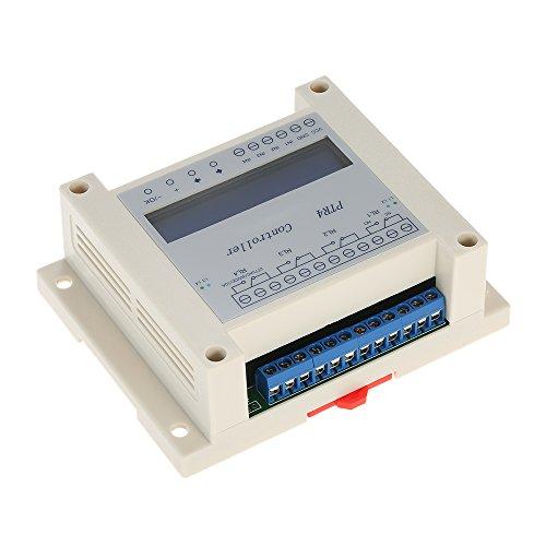 KKmoon Digital Relais DC 6-40V 4 Kanal Programmieren Timer Controller Verzögerungsschalter Modul Unabhängige Zeitzyklus LCD Anzeige