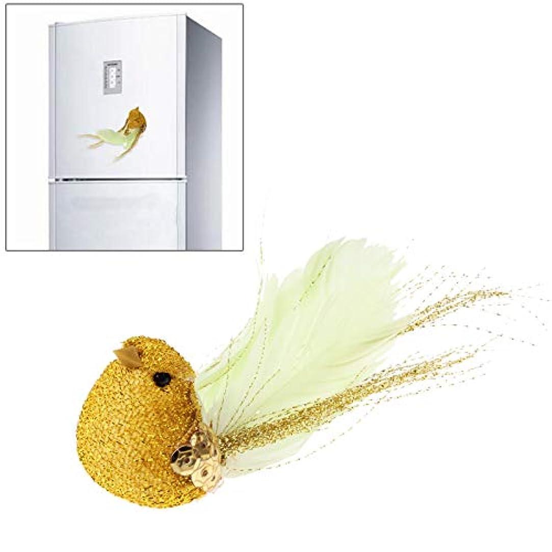 楽観結婚謝罪YWH磁気冷蔵庫ステッカー、 クリエイティブ3D実物のカナリースタイル磁気冷蔵庫ステッカー