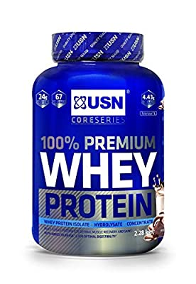 USN 100% Premium Whey Protein Shake Powder by USN