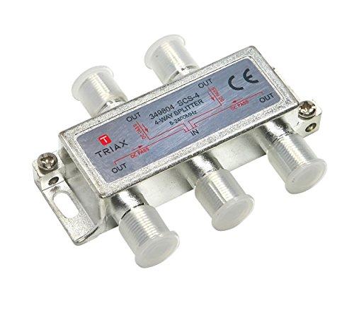 Triax passif Distributeur 4 sorties scs 4 attenuation 7 9db