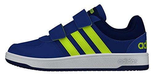 adidas VS Hoops CMF C, Zapatillas de Deporte Niños, Azul (Azul/Amasol/Tinuni), 34