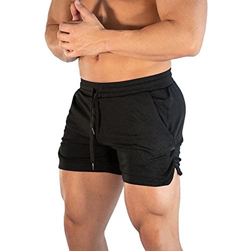 BIBOKAOKE Kurze Hosen Herren Sport Shorts Sommer Fitness Sporthose Strandshorts Gym Sweatshorts Trainingshose Atmungsaktiv Jogginghose Laufshorts Männer Freizeit Bermuda Shorts Tennishose