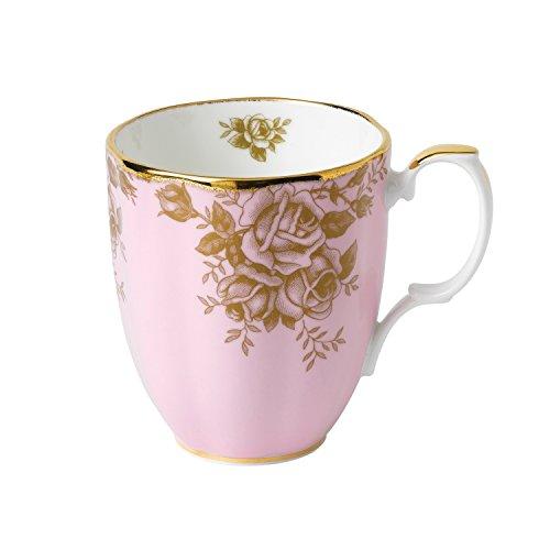 Tasse, Design: 1960Golden Rose, Fassungsvermögen: 0,4 l