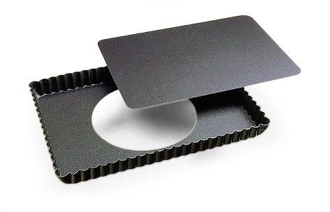 Gobel 224510 Moule à Manqué Rond Haut Cannelé Bordé Anti-Adhérent Ø 23 cm