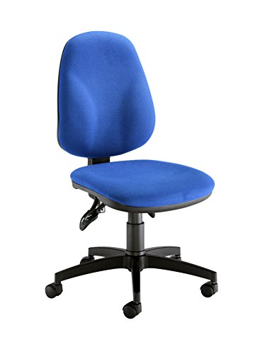 Office Hippo Deluxe High Back Asynchro Operator Chair, Fabric, Royal Blue, 61 x 61 x 97 cm
