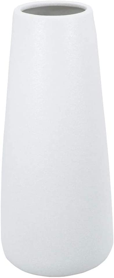 Gemseek 8 Excellence inch White Ceramic Vase Popular products Living Modern Flower for