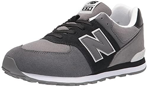 New Balance GC574V1, Zapatillas, Black (WR1), 38.5 EU