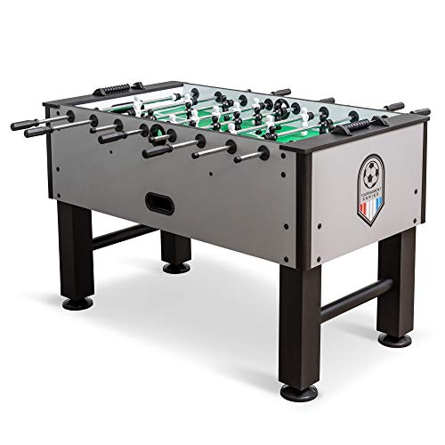 EastPoint Sports Official Competition Size Deluxe Foosball Table for Multiplayer Indoor Play - Includes 4 Foosballs Missouri