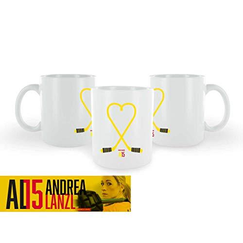 Scallywag® Eishockey Tasse Andrea Lanzl I A BRAYCE® Collaboration (Kaffeetasse als Hockey Geschenk von der DEB Rekord-Nationalspielerin)