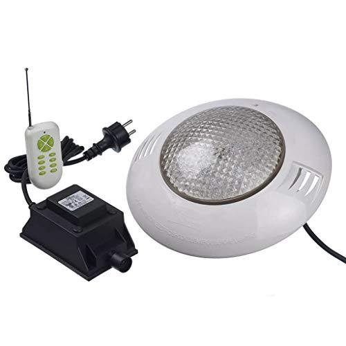 Ubbink Kit spot LED avec Télécommande Eclairage de Jardin Fontaine Étang