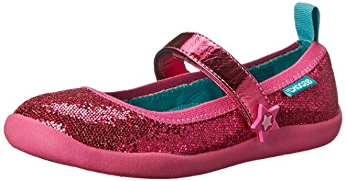 CHOOZE Jump Mary Jane (Toddler/Little Kid), Glow Fuchscia, 4 M US Toddler