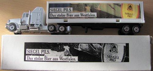 Siegel Pils Nr.02 - Das stolze Bier aus Westfalen - Kenworth W900 - US Sattelzug
