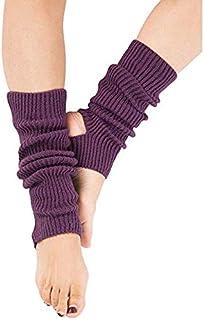 Calcetines de yoga para mujeres y niñas, calcetines de entrenamiento sin dedos