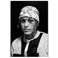 Lil Skyes Rapper MusicStarポスターPaintingCanvas Wall Art and Prints Pictures for Living Room Decor Print on canvas 50x70cm unframed
