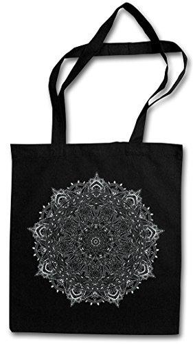 Mandala I Shopper Reusable Hipster Shopping Cotton Bag Einkauftasche Einkaufstasche Tasche...