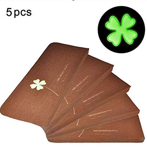 Fdit 5 Pcs Alfombra de Escalera Luminosa Alfombrillas de PVC Autoadhesivas sin Adhesivo Pegatinas Antideslizantes de Escalera de Piso Alfombras Tapetes Protectores