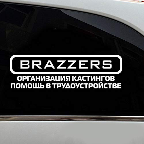 BBYT 40x12cm Slandering Car Sticker Funny Car Stickers Auto Products Decals Removable Car Accessories Bumper Sticker (Color Name : Yellow Car Sticker)