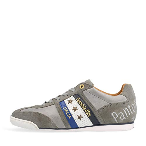 Pantofola d'Oro Baskets Low Imola Uomo Low pour homme - Gris - Gris violet 10211031 3jw, 44 EU
