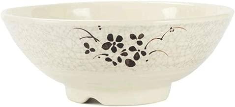 NJHDR Porcelain Ramen Bowls, Soup/Pasta/Salad/Cereal Noodle Bowls, (Size : 22.5 * 9.5cm)