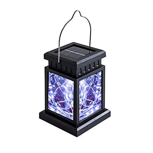 GOUER Farolillos solares LED para exteriores, resistentes al agua, para decoración de paredes exteriores de...