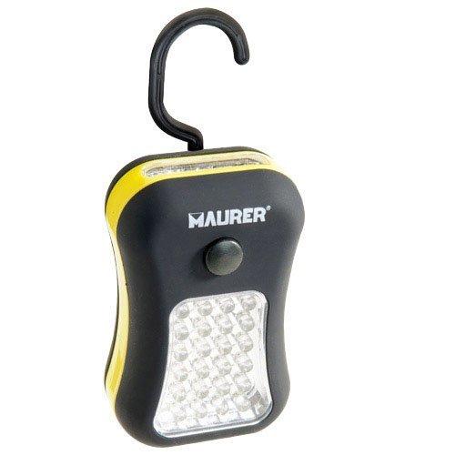 Maurer Lampe torche LED portable à 24 LED + 1 magnétique, 3 piles AAA (non incluses)