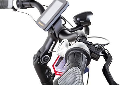 41rjO7PLQ1L - 28 Zoll TechniBike City Pedelec E Bike Riemen N330 Nu Vinci Continental Gr.L