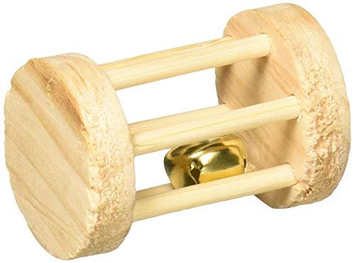 Trixie 6183 Spielrolle, Kleintiere, Holz, ø 3,5 × 5 cm