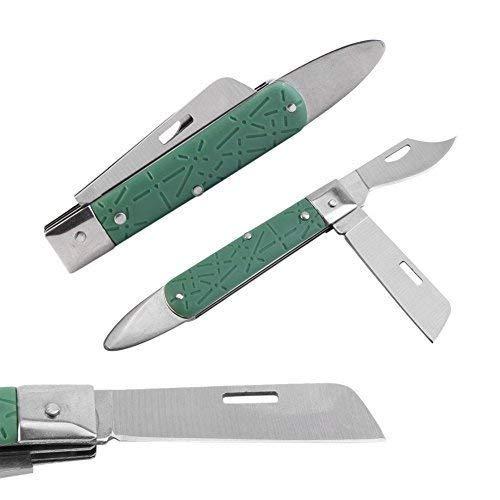 Yosoo Garden Grafting Pruning Knife Foldable Seedling Bud-Grafting Knife Grafting Cutting Tool
