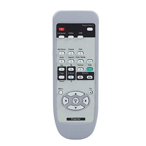 Vbestlife Reemplazo de Mando a Distancia Universal para Proyector Control Remoto para Proyector EPSON EMP-7800 EMP-7850