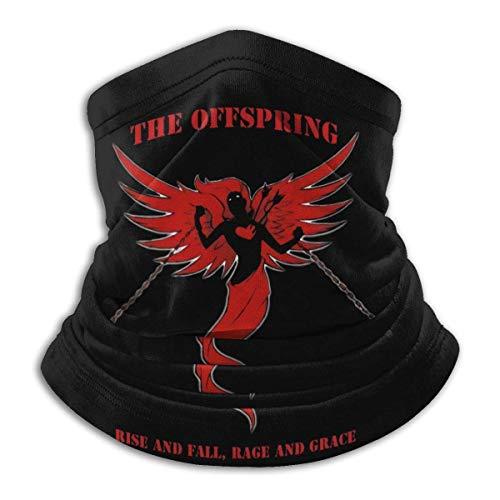 The Offspring Rise Fall, Rage Grace Fleece Neck Warmer Calentador de cuello de invierno Mascarilla a prueba de viento para hombres Mujeres NWM-1208